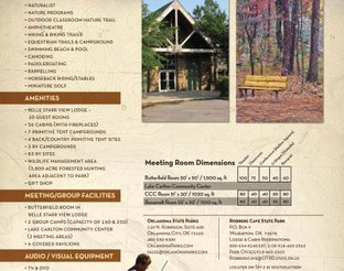 Robbers Cave Meeting Planner Info