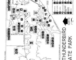 View Lake Thunderbird State Park Map