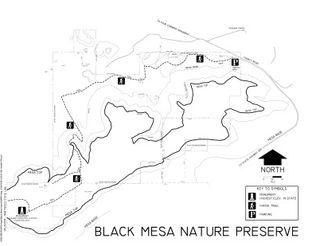 Black Mesa Nature Preserve Map