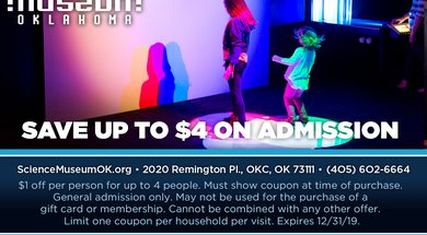 Up to $4 Off Admission""