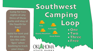 SW Camping Connection - Fourth Stay Free