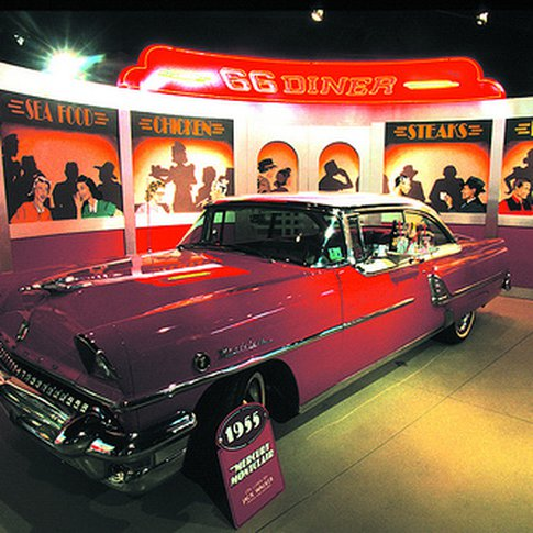 The National Route 66 and Transportation Museum in Elk City celebrates the Mother Road and America's love affair with the automobile.