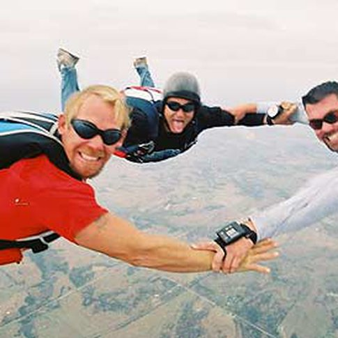 After a four to six hour ground school lesson, you can take to the sky for your first solo skydive or try a tandem skydive at Oklahoma Skydiving Center in Cushing.