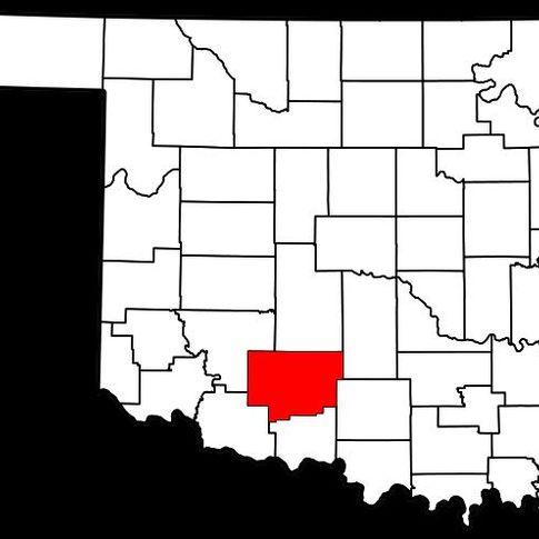 Comanche County in southwest Oklahoma.