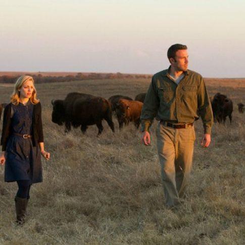 Ben Affleck and Rachel McAdams roam the Tallgrass Prairie Preserve in Pawhuska in the film To the Wonder.