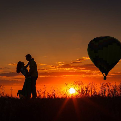 Up the romance factor in your life with a high-flying balloon ride for two with OKC Balloons Aloft.