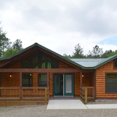 The Deer Creek Cabin at Beavers Bend Lodging in Broken Bow offers special touches throughout to make this wheelchair-friendly cabin accessible for everyone.