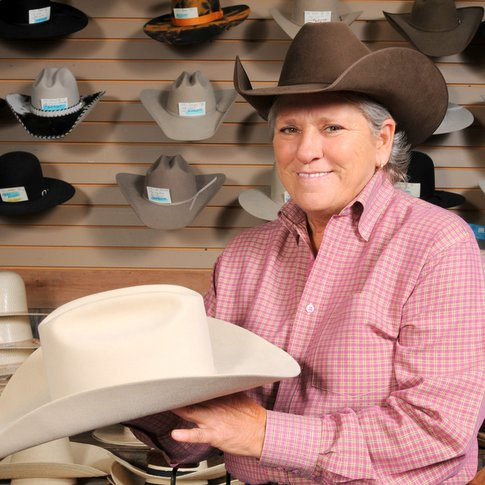 Step up your hat game with a custom lid from Shorty's Caboy Hattery in Historic Stockyards City.