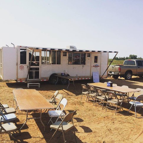 Spot the Blue Mountain Smoke food truck in Elk City, and fill up on smoked meats and sides.
