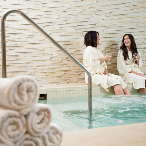 Take a day to pamper yourself at Sole'renity Spa at The Artesian Hotel & Casino in Sulphur.