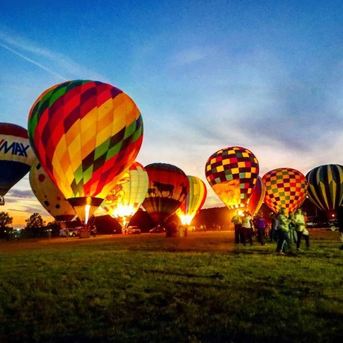Venture over to the Poteau Balloon Fest for tethered balloon rides and glows.