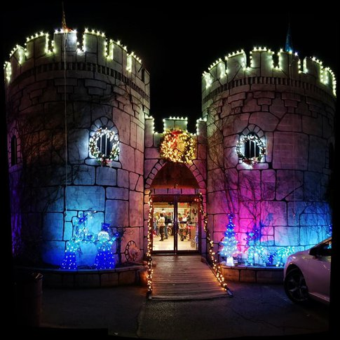 Head to Castle Christmas in Muskogee for a holiday light spectacle.