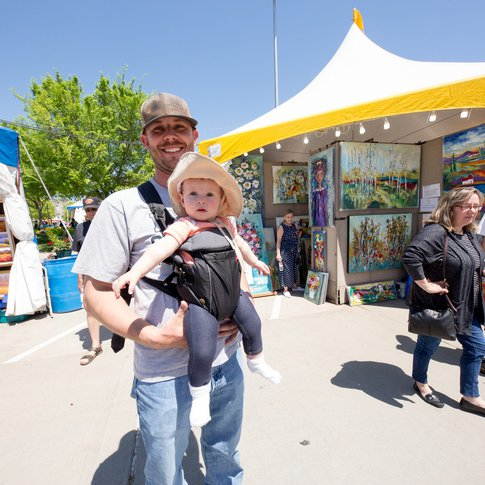 All ages are sure to enjoy viewing artwork on display at the Festival of the Arts in Oklahoma City.