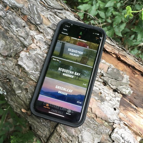 Download the official Oklahoma State Parks app for the perfect mobile guide to over 30 state parks that feature Oklahoma's amazing biodiversity and beauty.
