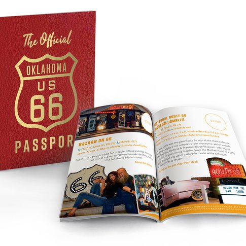 Discover 66 destinations along Route 66 with the official Oklahoma Route 66 Passport.