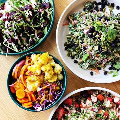 Plant in OKC's Midtown District is a one-stop shop for healthy, veggie-focused meals.
