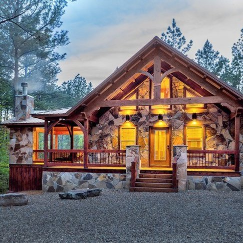 Experience a tranquil stay near top area attractions at Broken Bow Lake Cabin Rentals.