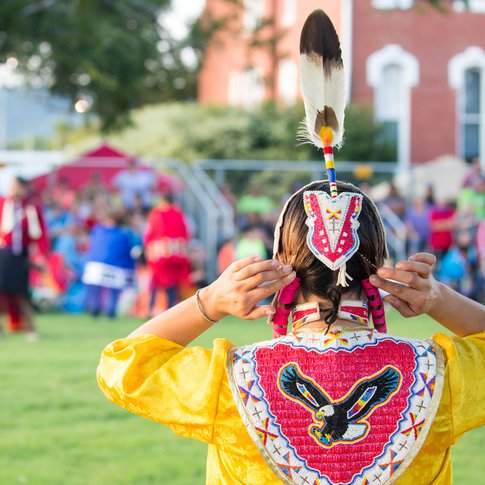 The Choctaw Nation Museum in Tuskahoma hosts a variety of cultural events throughout the year, including traditional powwows.