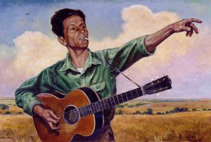 Greg Johnson's Tribute to Woody Guthrie Show