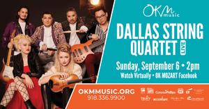Dallas String Quartet in Concert (Virtual)