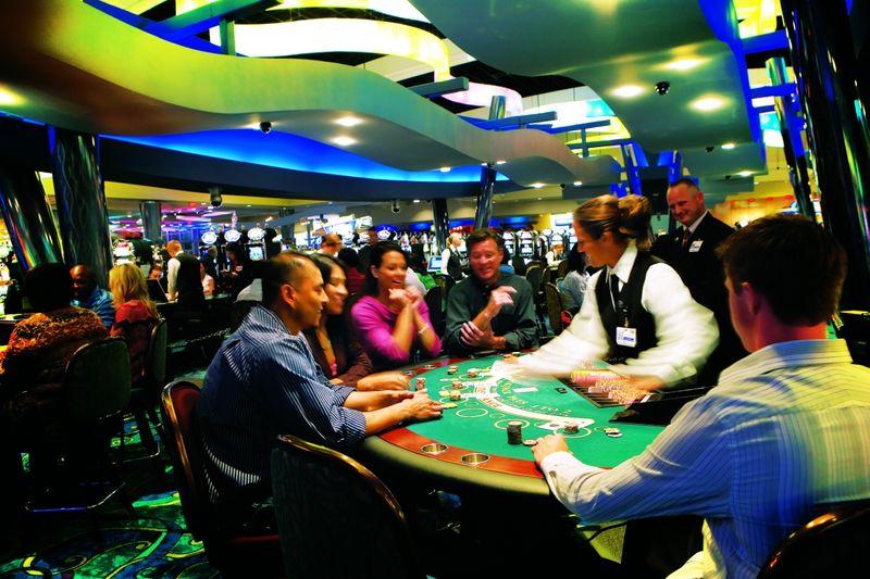 casinos in oklahoma kansas border