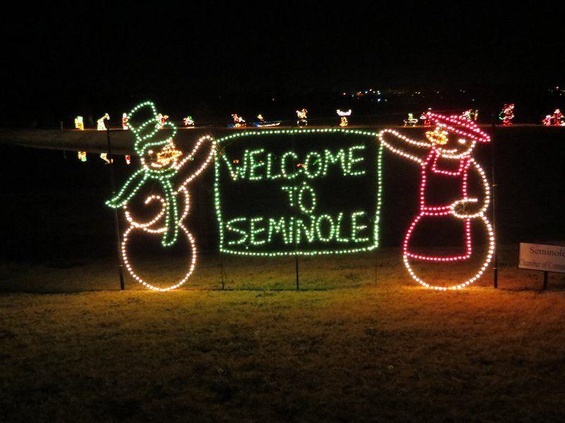 Seminole Ok Christmas Parade 2021 Snowman Wonderland Travelok Com Oklahoma S Official Travel Tourism Site