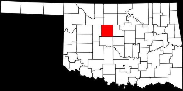 Kingfisher County Oklahoma Map.Kingfisher County Genealogy Resources Travelok Com Oklahoma S