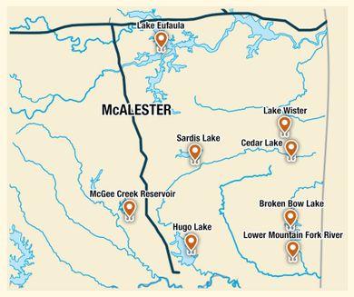 Broken Bow Oklahoma Map City of Broken Bow | TravelOK.  Oklahoma's Official Travel