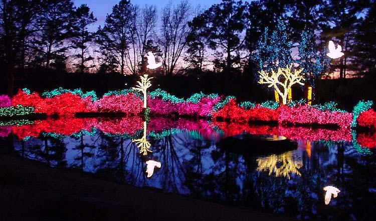 Garden Of Lights Travelok Com Oklahoma S Official
