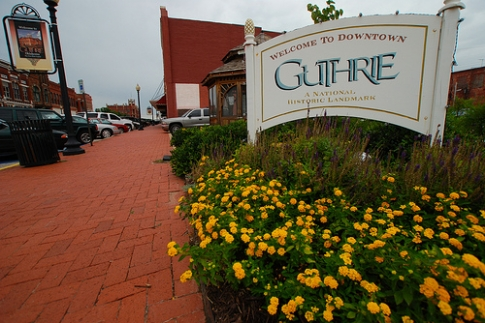 Guthrie's downtown district is a charming blend of Victorian-era architecture and modern touches that welcome guests to enjoy a variety of antique stores, boutique shopping and dining establishments.