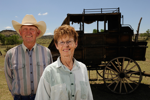 Bob and Jane Apple have opened the Hitching Post Ranch to those who want to have an authentic ranch experience.  Ride horses, stay in their ranch home and even help with ranch chores if you want.  They can also help you explore the Black Mesa area.