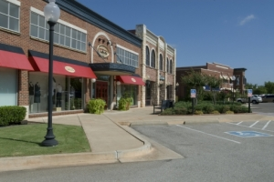 The Spring Creek Shopping Plaza in Edmond offers upscale stores and boutiques in an open air environment.