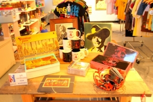 Some of the all-about-Oklahoma gear available at Dwelling Spaces.