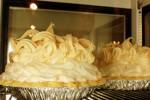 These amazing pies are the perfect way to finish a delicious meal at Click's Steakhouse in Pawnee.