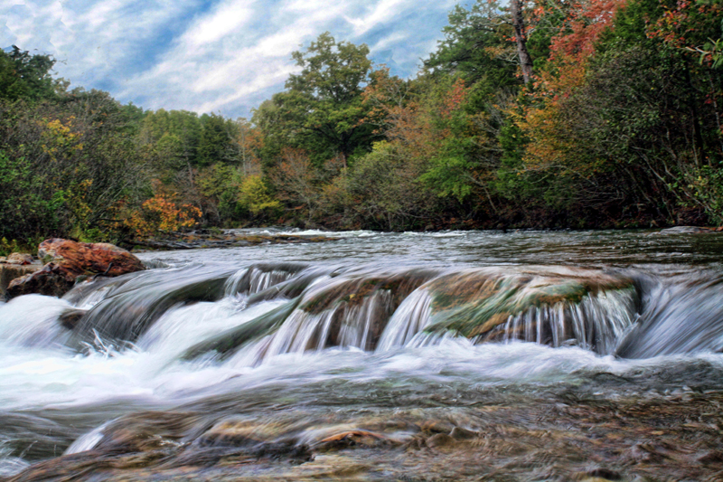 Ten most beautiful places in oklahoma travelok oklahomas the mountain fork river in beavers bend state park offers incredible scenery like this area where the water cascades over the rocky river bottom publicscrutiny