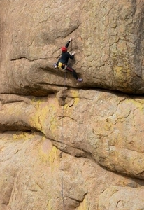 Rock climbing enthusiasts find a great challenge on the granite crags and many rock faces of the Wichita Mountains in southwest Oklahoma.  Guide For a Day offers personalized rock climbing instruction in the Wichita Mountains for skill levels from beginner to advanced.