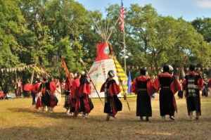 Traditional dance is an important part of the Kiowa Black Leggings Warrior Society Ceremonial held in Anadarko each year.