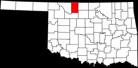 Alfalfa County in northwest Oklahoma.