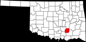 Coal County in southeast Oklahoma.