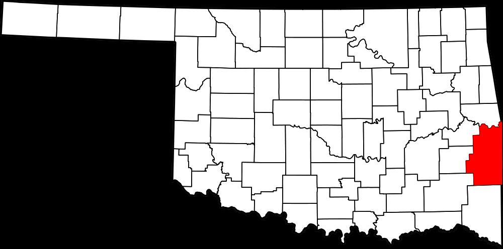 Wegbeschreibung nach Poteau Oklahoma