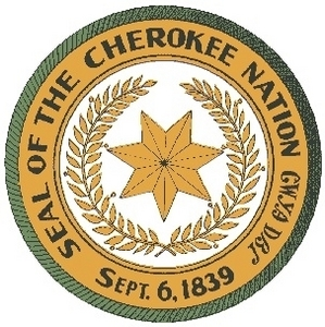 The official seal of the Cherokee Nation.
