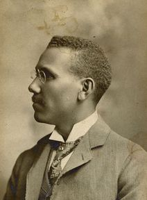 African American Prof. William Jones of Langston University in 1912. Photo courtesy of the Oklahoma Historical Society.