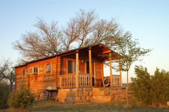 great cabin getaways across oklahoma