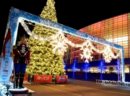 Downtown Tulsa is transformed into a festive wonderland during Winterfest, an annual holiday tradition featuring outdoor ice skating, Oklahoma's tallest outdoor Christmas tree, horse-drawn carriage rides, live entertainment and more.