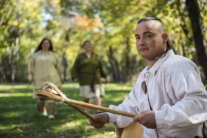 Watch an exciting game of stickball at Diligwa, a 1710 village at the Cherokee Heritage Center in Tahlequah.