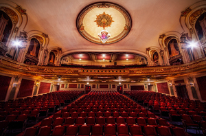 There isn't a bad seat in the house at the Coleman Theatre in Miami.