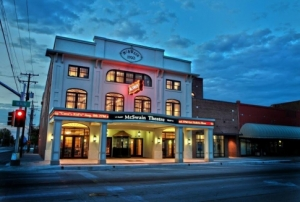 The McSwain Theatre in Ada has been a buzzing entertainment venue for more than 90 years and remains a live music hot spot in the region.