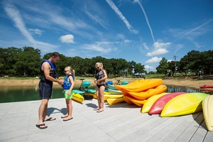 Canoes, kayaks, stand up paddleboards and paddle boats are available for rent at Lake Murray State Park in Ardmore.