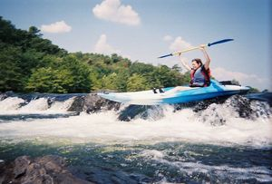 Go kayaking on the Lower Mountain Fork River in Broken Bow.