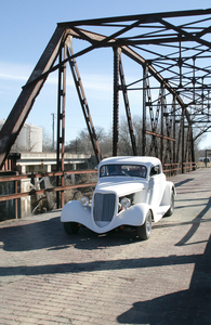 Get off the beaten path near Route 66 and explore the 1921 steel-truss Rock Creek Bridge just west of Sapulpa.